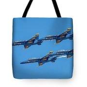 The Usn Blue Angels Tote Bag