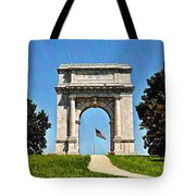 The Valley Forge Arch Tote Bag