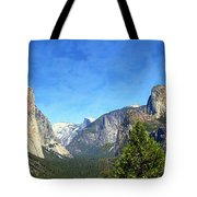 The Valley Of Inspiration-yosemite Tote Bag