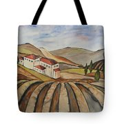 The Valley Of Jesrael Tote Bag