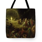 The Valley Of Tears Tote Bag by Gustave Dore