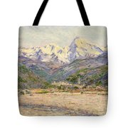 The Valley Of The Nervia, 1884  Tote Bag