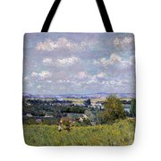 The Valley Of The Seine At Saint Cloud Tote Bag