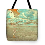 The Valley Of Winding Snake River Tote Bag