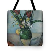 The Vase Of Tulips Tote Bag