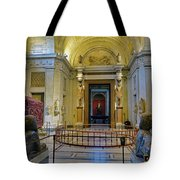 The Vatican Museum In The Vatican City Tote Bag