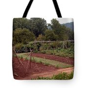 The Vegetable Garden At Monticello II Tote Bag