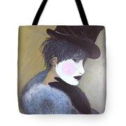 The Velvet Hat Tote Bag