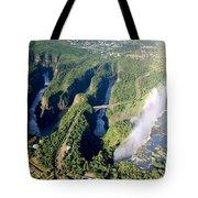 The Vic Falls Gorge Tote Bag