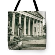 The Victoria Rooms With Lamp Post, Bristol Tote Bag