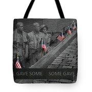 The Vietnam War Memorial Tote Bag