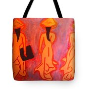 The Vietnamese,s On Old School Tote Bag