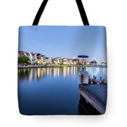The View At Day's End  Tote Bag