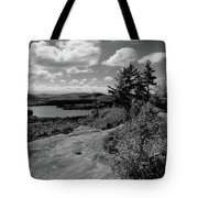 The View From Bald Mountain Tote Bag