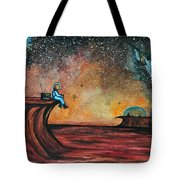 The View From Here.  Tote Bag
