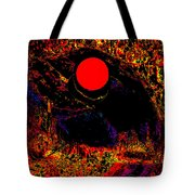 The View From John Carter's Cave Tote Bag by Eikoni Images