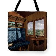 The View From Marion Station Tote Bag