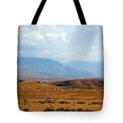 The View From Red Gulch Tote Bag