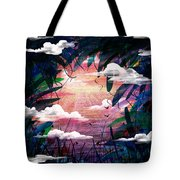 The View From Up Here Tote Bag