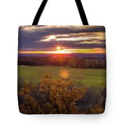 The View From Up Here Tote Bag by Viviana Nadowski
