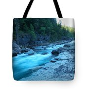 The View Of A River Tote Bag