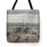 The View Of The Tower Tote Bag