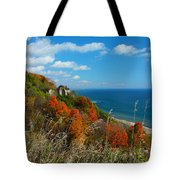 The View - Scarborough Bluffs Tote Bag