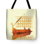 The Viking Ship Tote Bag