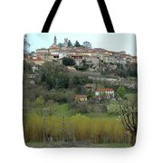 The Village And The Countryside Tote Bag