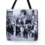 The Village Band Tote Bag