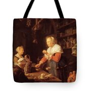 The Village Grocer 1647 Tote Bag