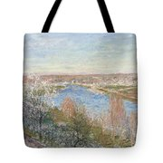 The Village In Champagne Tote Bag