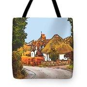 The Village Of Chilbolton Tote Bag