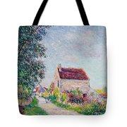 The Village Of Sablons Tote Bag