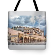 The Village Of St. Francis Of Assisi Tote Bag
