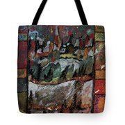 The Village On A Hill Tote Bag