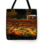 The Vines During Autumn Tote Bag