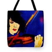 The Violinist Tote Bag