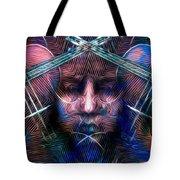The Violinist Dual Tone   Tote Bag
