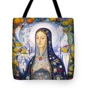 The Virgin,  Joseph Stella Tote Bag