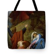 The Virgin Of Calvary Tote Bag by Jules Eugene Lenepveu