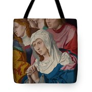 The Virgin Saints And A Holy Woman Tote Bag