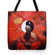The Virtual Nirvana Man Of The Galaxy  Tote Bag