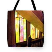 The Vista Stairway Tote Bag