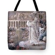 The Voice From Heaven Tote Bag