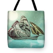 The Voyage Tote Bag by Eric Fan