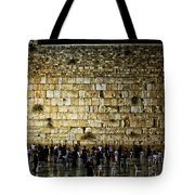 The Wailing Wall - Jerusalem  Tote Bag