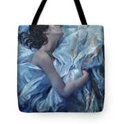 The Waiting For The Spring Tote Bag