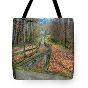 The Walk In The Woods Tote Bag