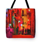 The Walkabouts - Spanish Red Moon Stroll Tote Bag